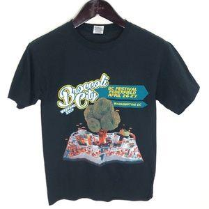 BROCCOLI City T-shirt S Black Lil Wayne Gambino